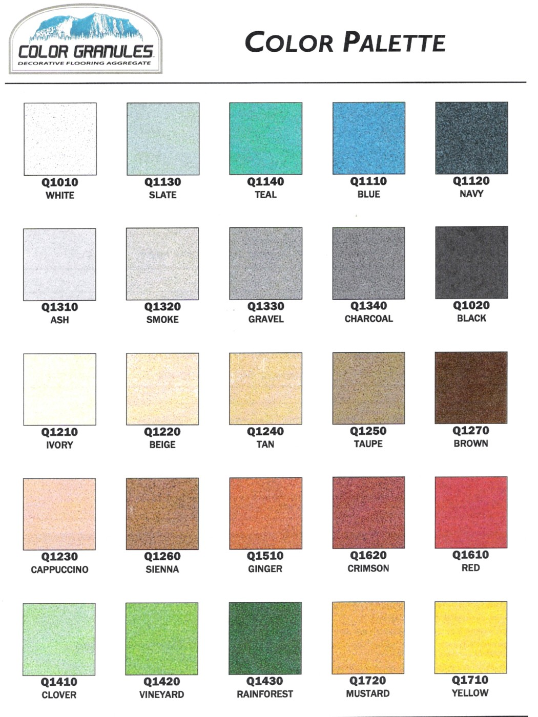 Top 28 Pics Of Different Colors Named Colors 8 Best